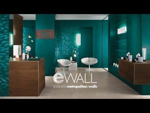 Atlas Concorde EWALL #WallTiles #ConcreteLook #ColorLook