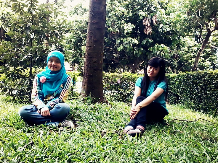 with Ajeng