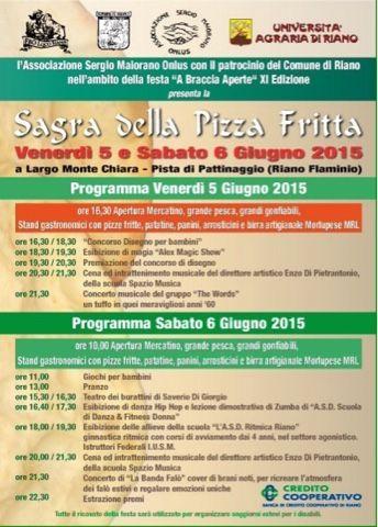 sagre e feste di paese nel Lazio: RIANO - SAGRA DELLA PIZZA FRITTA