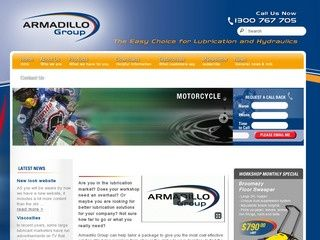 Armadillo Group is the Western Australian agent for Morris Lubricants, we also stock a full range of lubrication equipment and oil absorbent products.