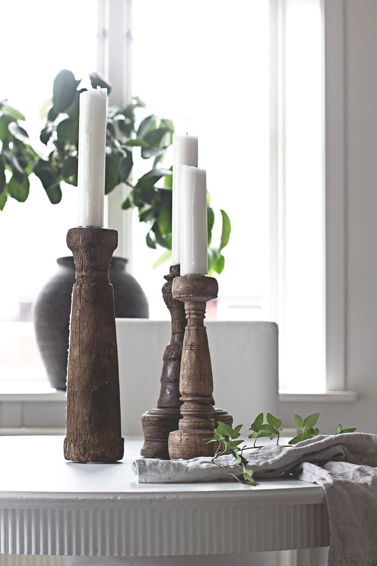 Vintage candleholders from snowdrops copenhagen