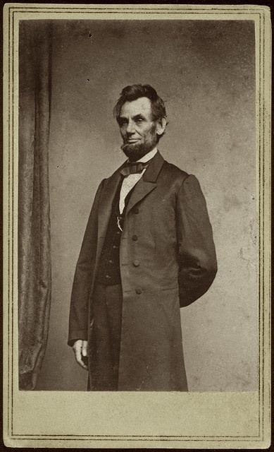 Abraham Lincoln  Accession Number: 1982:0152:0015  Maker: Mathew B. Brady  Title: Abraham Lincoln  Date: ca. 1863  Medium: albumen print  Dimensions: 8.5 x 5.5 cm.  George Eastman House Collection