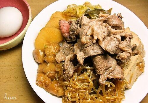 我が家のすき焼き丼 : つぶやきレシピ-140文字以内のレシピサイト-