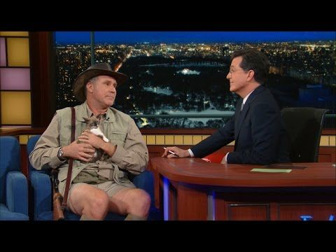 Did You Know Will Ferrell is an Exotic Animal Expert?