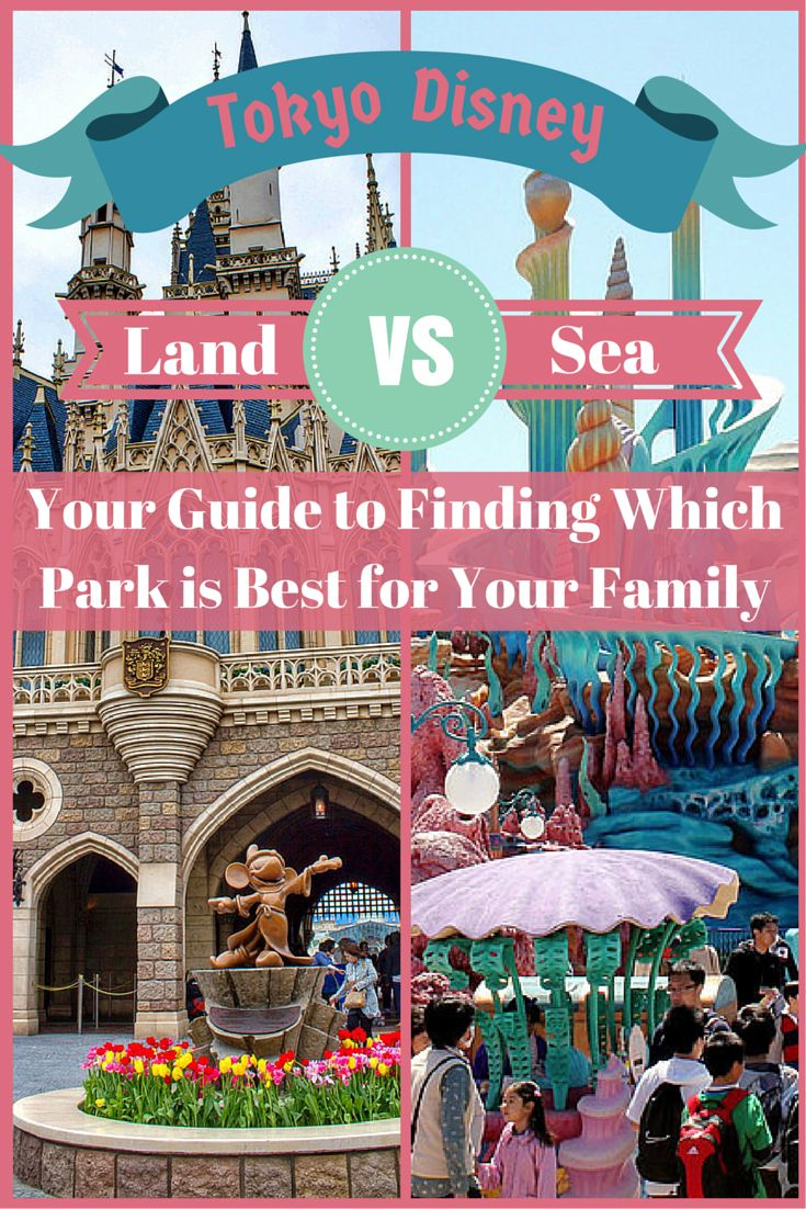 A guide to finding out which Tokyo Disney Park (Disneyland or DisneySea) is best for your family's vacation.