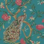 Yosemite Home Decor 35 in. x 24 in. Peacock Poise I Printed Contemporary Artwork-YFSPARROWL at The Home Depot