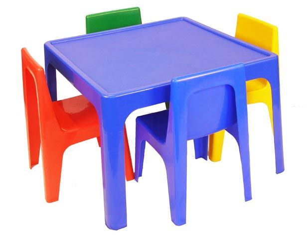 Plastic Kids Table And Chair Set Simple With Images Of Vjjyfpf