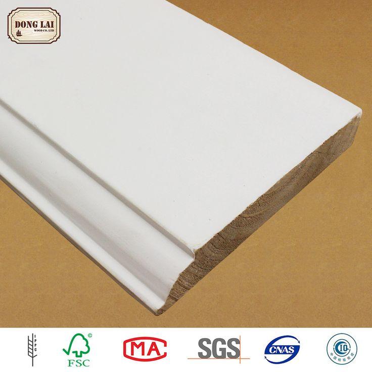 Waterproof High Quality Frp Skirting Baseboard Lowes