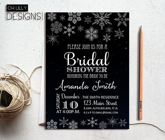 Hey, I found this really awesome Etsy listing at https://www.etsy.com/listing/248145752/winter-bridal-shower-invitations