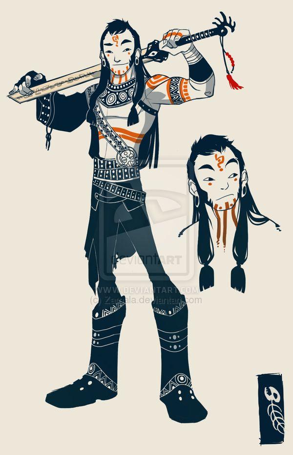 The Third Prince by ~Zarnala on deviantART http://pinterest.com/characterdesigh/