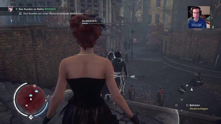 """Plattform: Playstation 4 Pro  Gespielt wird in Assassin's Creed Syndicate - Jack the Ripper: Whitechapel: Schandmeile 1 - """"Schandmeile"""". 100% Synchronisation."""