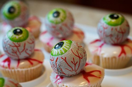 Eyeball Cupcakes Pictures, Photos, and Images for Facebook, Tumblr, Pinterest, and Twitter