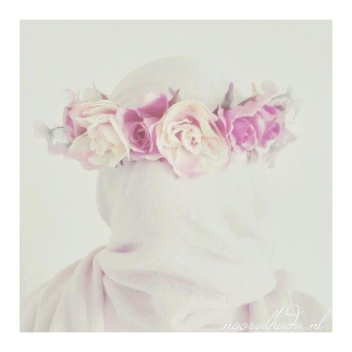 Hijab flowercrown