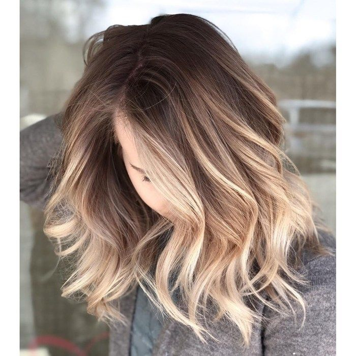 Wet Balayage + Root Melt - Behindthechair.com How to do a wet balayage plus stretched root melt with step by step photos by @camouflageandbalayage