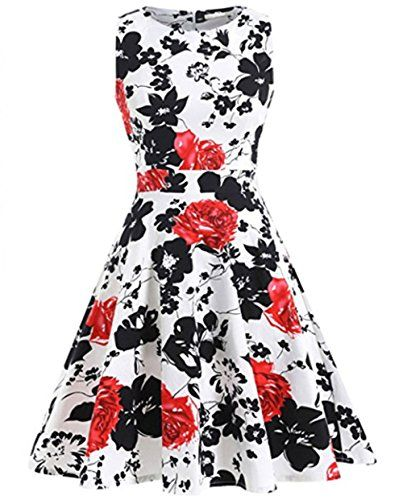 YARBAR Donne Vintage Floreale Vestito in Stile anni 1950 ... https://www.amazon.it/dp/B014PBW25U/ref=cm_sw_r_pi_dp_x_cAbVyb1ZFYH2F