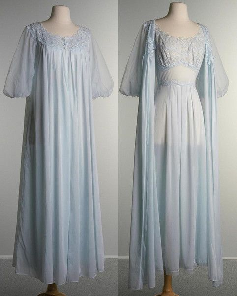 Vintage 1950s Vanity Fair Night Gown and Peignoir Set-SALE Clothing, Shoes & Jewelry - Women - Lingerie, Sleepwear & Loungewear - http://amzn.to/2kMZiFM