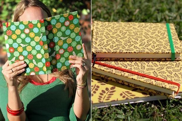 cuadernos artesanales con hojas usadas - Buscar con Google