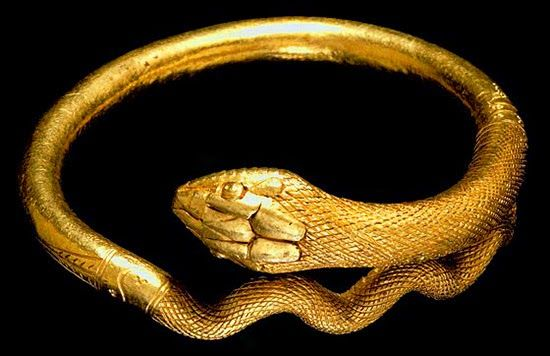 bracciale a forma di serpente