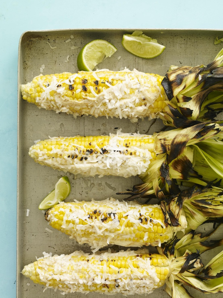 Caribbean-Style Grilled Corn #myplate