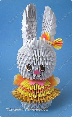 Häschen-Fashionista (modulare Origami). Diskussion über Liveinternet - Russisch Service Online-Tagebücher