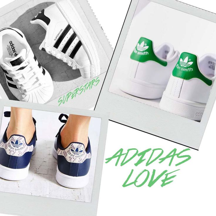 Adidas summer collection must haves. Superstars Stan Smith Stan Smith snake
