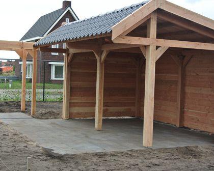 Overkapping achtertuin dakpan google zoeken idee n voor het huis pinterest google - Veranda met dakpan ...
