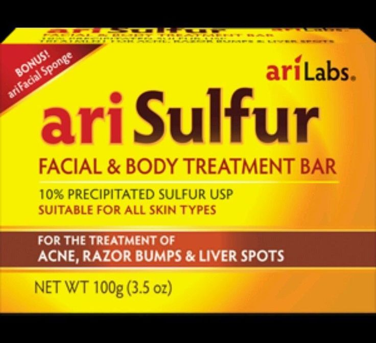 Ari Sulphur Facial Soap Bar Body Treatment