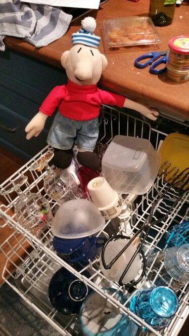 Buur aan de afwas