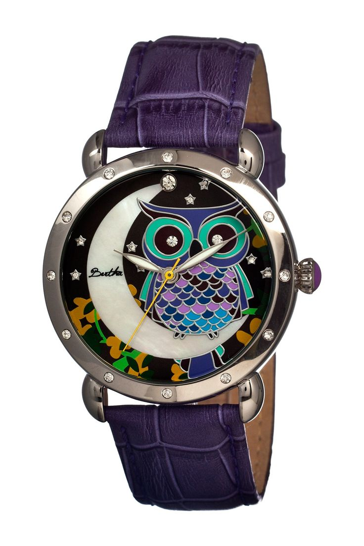 Purple Owl Watch ♡