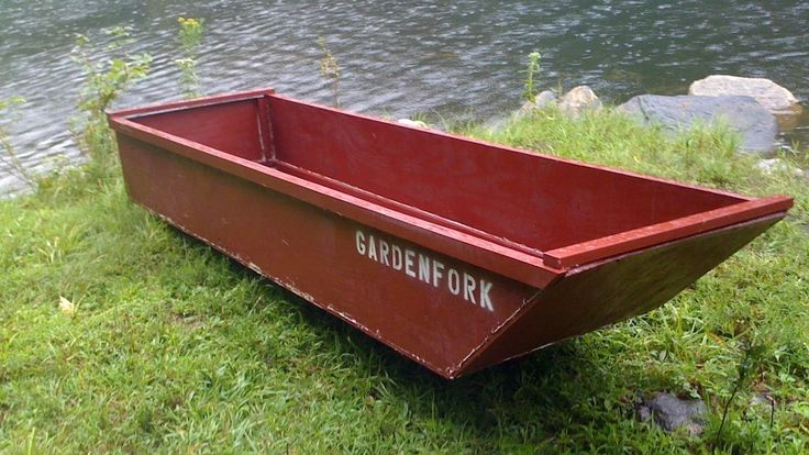 Plywood Boat, how to build a one sheet plywood boat GardenFork.TV | Be Prepared | Pinterest ...