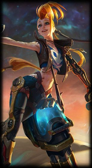 Odyssey Jinx  Lol League Of Legends, Jinx League Of -2566