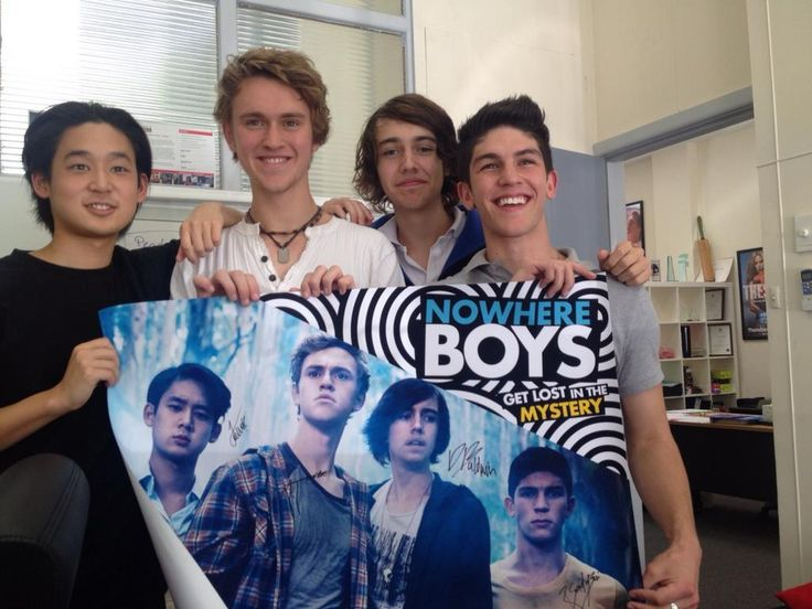 Nowhere Boys and actors.
