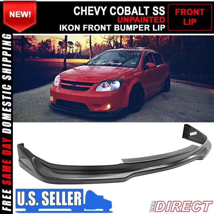 05 10 Chevy Chevrolet Cobalt SS Coupe Sedan Ikon Front Bumper Lip Chin Spoiler | eBay