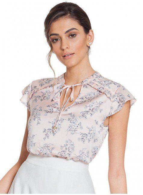 1c5832ee4b0fa blusa floral rose principessa alaiane frente 2
