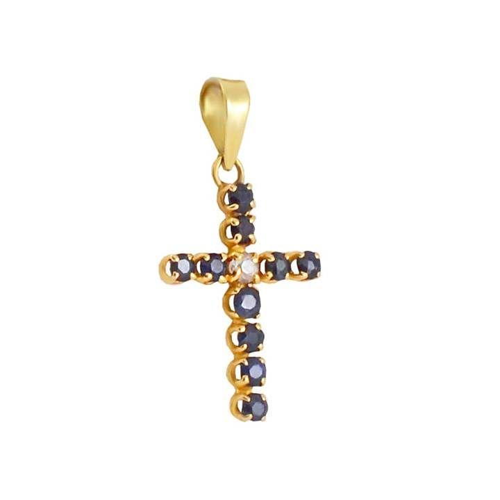 ΣΤ457P -Χρυσός σταυρός