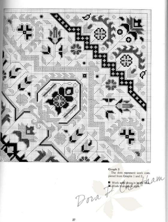 Gallery.ru / Фото #40 - Needlepoint Designs from Oriental Rugs - Dora2012