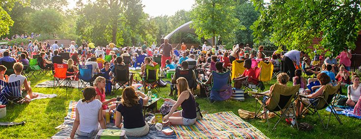 Missouri Botanical Gardens - Summer Jazz Concerts on Wednesdays