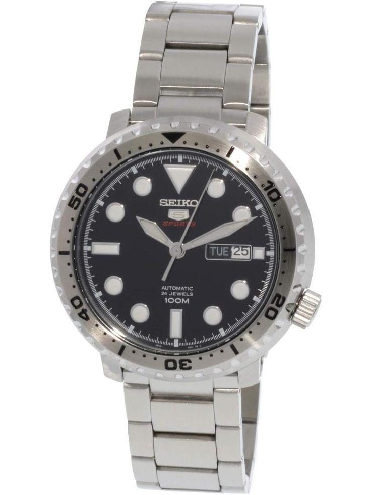 Seiko 5 Sports SRPB21 Turtle Reissue Automatic Watch Blue