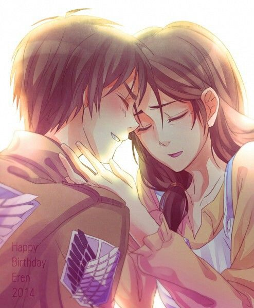 Eren And His Mother