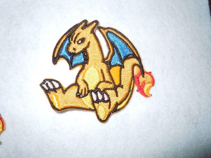 Charizard Pokemon Patch by LittleWolfStudios on Etsy https://www.etsy.com/listing/235043374/charizard-pokemon-patch