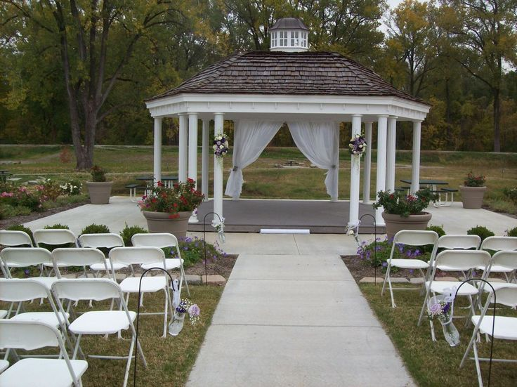 This Was Similar To The Gazebo Matthew Built For Our Wedding