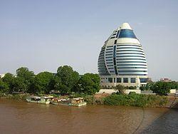Jartum (también escrito como Jartún, y en otros idiomas Khartum o Khartun) es la capital de Sudán, África. Se encuentra en el lugar donde el Nilo Blanco, procedente de Uganda, se une con el Nilo Azul, que viene de Etiopía, formando el Nilo, que sigue su curso desde Jartum hacia Egipto y el mar Mediterráneo.