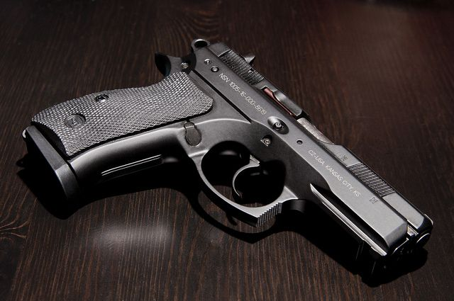 CZ75P01 | My new CZ P-01 Compact | Steve | Flickr