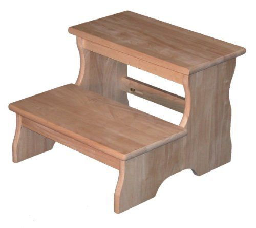 Step Stool By Wood Creations Furniture Parawood