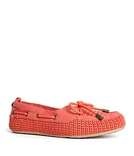 Bella Moccasin in Cayenne: Spring Shoes, Sak Shoes, Fun Shoes, 2013 Accessories, Bella Moccasins, Fall 2013, Fall Winter Wardrobes, Boati Shoes, Adorable Flats