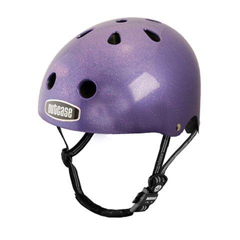 BICI & SEGURIDAD: Nutcase Street GEN2 Purple Dazzle  casco super colorinche que uso para proteger mi cabeza mientras pedaleo.... lo uso SIEMPRE, aunque haga un recorrido de 15 minutos, de un punto a otro por stgo.