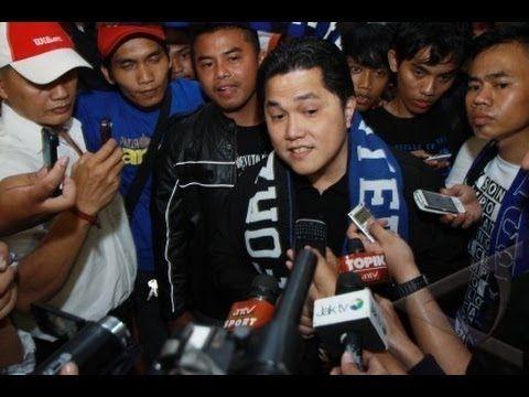 Kedatangan Presiden Inter Milan Erick Thohir di Bandara Soekarno-Hatta