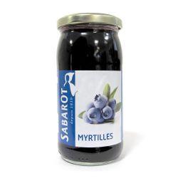 Myrtilles bocal 37cl Sabarot