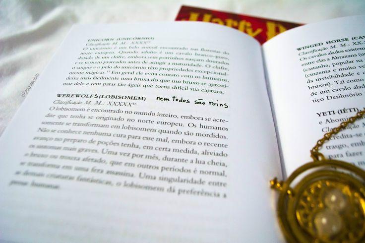 Resenha Livro Animais Fantasticos E Onde Habitam Harrypotter
