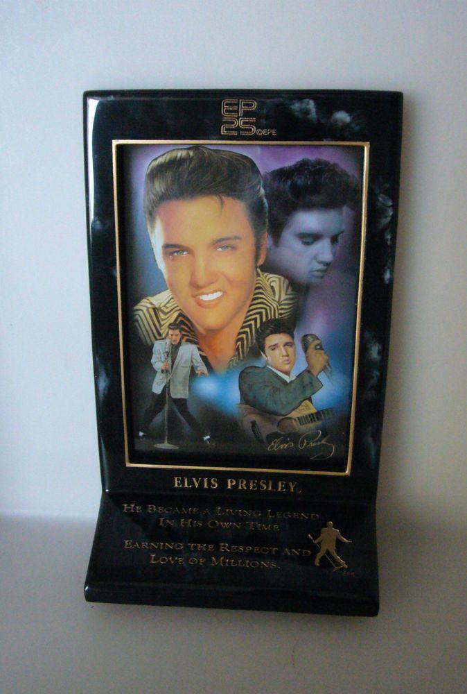 Elvis 25th Anniversary Memorial Bradford Exchange Forever Elvis